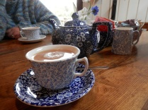 Burleigh pottery in use