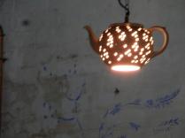 Teapot lampshade