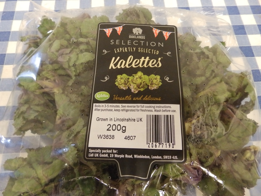Kalettes - the future of brassicas